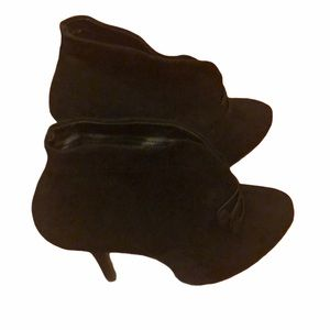 Apt. 9 Black suede ankle boots